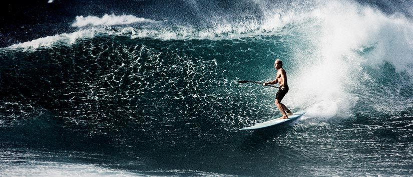 Standup Paddle Surfing (SUP) in Maui/ Hawaii - Click for more