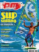 Windsurf Photography by Thorsten Indra, here on the June 2011 cover of the French Magazine Planchemag