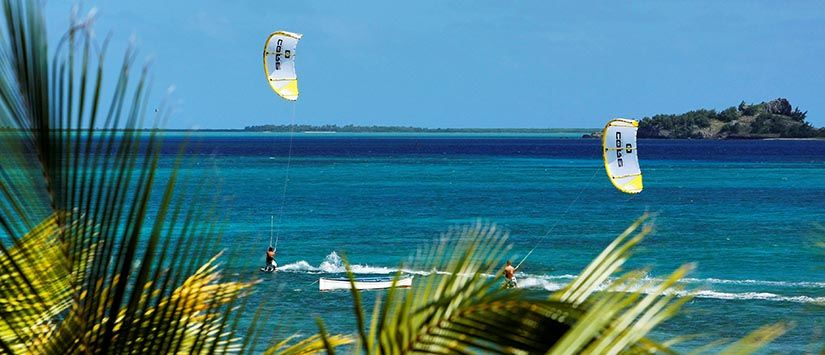 Kiteboarding in Rodrigues Rodriguez/ Mauritius. Mehr Kiting action in der Gallery - Hier klicken