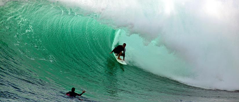 Surfen in Honolua Bay/ Maui , Hawaii - Click for the Surfing Gallery